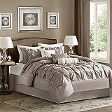 Madison Park Laurel Comforter Set, King, Taupe by Madison Park
