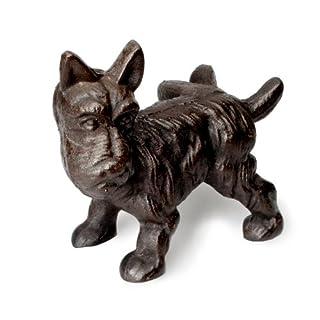 Abbott Collection Brown Scottie Dog Stopper
