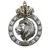 Materiale pendente: 925 argentoMateriale catena: Argento 925Stile: retròSesso applicabile: maschioLunghezza catena: 60cmFormato del pendente: 35 * 30mm