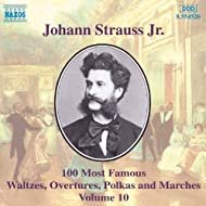 Strauss II, J.: 100 Most Famous Works, Vol. 10