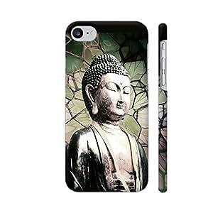 Colorpur iPhone 7 Cover - Buddha Asia Yoga Printed Back Case