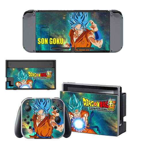CIVIQ Dragon Ball Super Skin Sticker Decal for Nintendo Switch Console And Controller for NS Protector Cover Skin Sticker Vinile