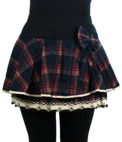Innocent Lifestyle -  Gonna  - Donna Blue-Red Tartan X-Large