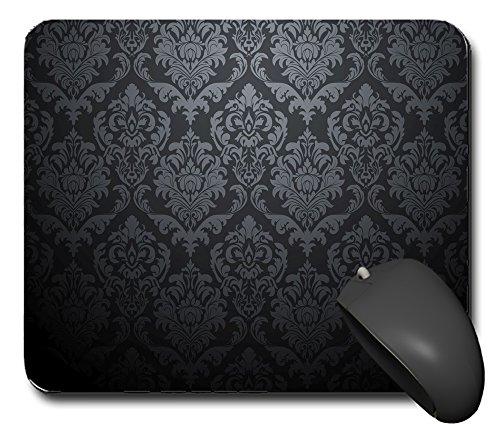 Mouse p0720Ornament flower Dark tappetino per mouse tappetino per il mouse PC computer nuovo