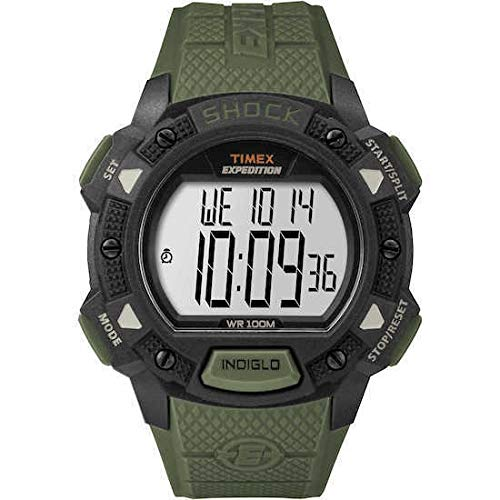 Timex Expedition TW4B09300 - Orologio da uomo con movimento al quarzo, quadrante digitale e cinturino in resina