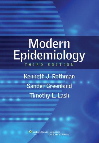 Modern Epidemiology (English Edition)