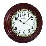 London Clock-finitura Ashtree tradizionale orologio da parete Camino