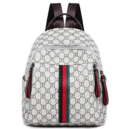 2018 neu Umhängetasche Handtasche Mode Rucksack Nähte Damen Tasche lässige Tasche Student Rucksack (Farbstreifen, 25cm * 14cm * 29cm)