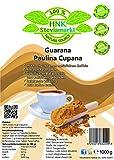 Reines Guarana Paulina Cupana Koffein Pulver pur | Energy Drink Pulver | 100% Natürlich | OHNE chemische Zusatzstoffe | 1er Pack (1 x Kg)
