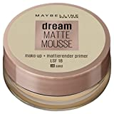 Maybelline New York Make-Up Dream Matte Mousse Sand 30 / Schminke in einem Hautfarbe-Ton mit mattiertem Finish, 1 x 18 ml