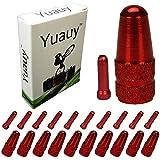Yuauy 10pz rosso lega cavo punte terminali + 10pezzi rosso...