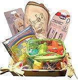 Bain de Bébé Temps Nouveau-Né Panier Set Cadeau Parfait Fête de Naissance Bébé Maternité Leave Cadeau