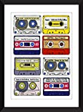 Josh Homme Albums Print - Kyuss/Queens of the Stone Age/Eagles of Death Metal Albums - Ideal Gift for Josh Homme Fan/Ungerahmter Druck