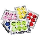 Autocollants Anti Moustique - TOOGOO(R) 6 Pcs / Sacs pour bebe Anti Moustique Moucheron Autocollants impermeable Patch