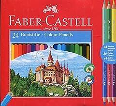 Idea Regalo - Faber-Castell 110324 Matita Colorata, 27 Pezzi
