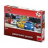 Dino Toys 393189 Puzzle panoramique large de haute qualité - Motif Disney Cars - 150 pièces