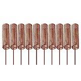 Gaoxing Tech. 10pcs 433MHz Antenne Helical Spiral Spring Fernbedienung für Arduino Himbeere 5mm