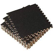 UMI. Essentials - Dalles en Mousse à emboîter de 1' x 1' (30,5 x 30,5 cm) (Lot de 9)