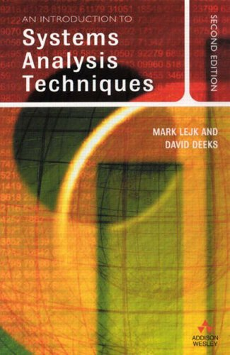 An Introduction to System Analysis Techniques, 2nd Ed.