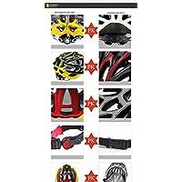 Darpy (TM) Super leggero per bicicletta da strada, Sport-Casco da ciclista per bici MTB-Casco da ciclismo, L 57-62 cm, per adulti, adolescenti WT888& 3 colori