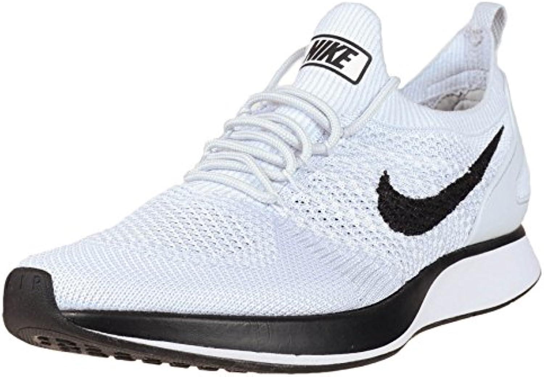 Nike Men Air Zoom Mariah Flyknit Racer blanco puro platino Tama?o 13.0 US