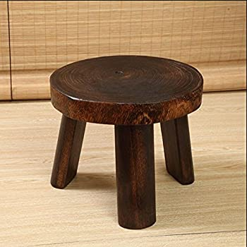 Wooden Stools Foot Stools Chairs Wooden Stool Children Seat Stool Creative Home Sofa Table Stool Antique Style Gift,tuba 1