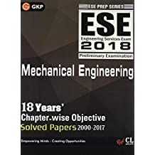 UPSC ESE 2018 Mechanical Engineering - Chapter Wise Solved Papers