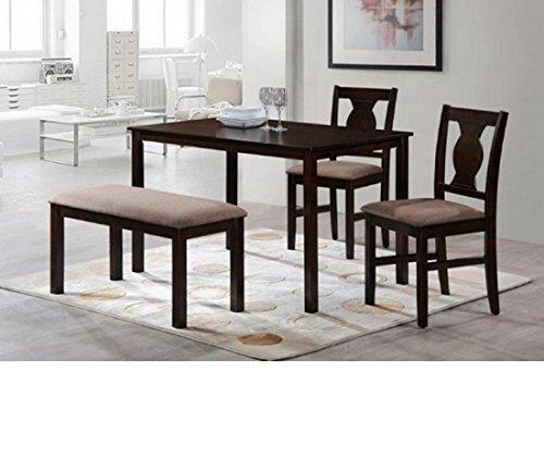 8dc8867362d 60% HomeTown Artois Four Seater Dining Table Set (Walnut)