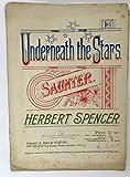 Underneath the Stars. Saunter. [P. F.]