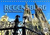 REGENSBURG - Impressionen (Tischkalender 2020 DIN A5 quer) - Renate Bleicher