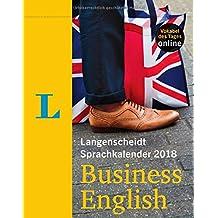 Langenscheidt Sprachkalender 2018 Business English - Abreißkalender