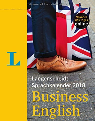 Langenscheidt Sprachkalender 2018 Business English - Abreißkalender