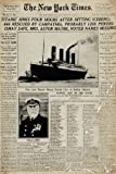 GB eye 61 x 91.5 cm Titanic Newspaper Maxi Poster, Assorted
