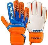 Reusch Prisma SD - Guanti da Portiere da Uomo, Uomo, 3870515, Shocking Orange/Blue, 7