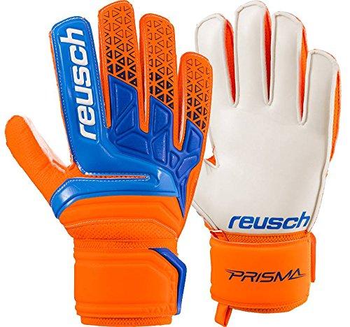 Reusch Herren Prisma SD Torwarthandschuh, Shocking orange/Blue, 7