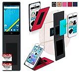 reboon Hülle für Elephone P6000 Pro Tasche Cover Case Bumper | Rot | Testsieger