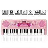 Chargable clavier piano, 49 Touches Multifonction Clavier Electronique...