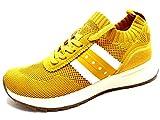 Tamaris Damen Sneaker Fashletics gelb - 38/38.0