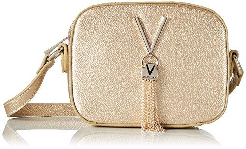 Mario Valentino Valentino by Damen Divina Haversack, Gold (ORO), 6x13x17 cm