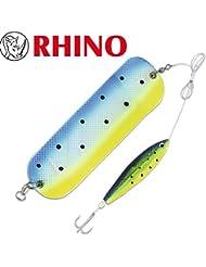 Rhino Flasher & softfish Rig Color: Oro Swedish Flag