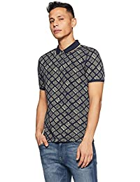 LP Jeans By Louis Philippe Men's Solid Slim Fit Polo