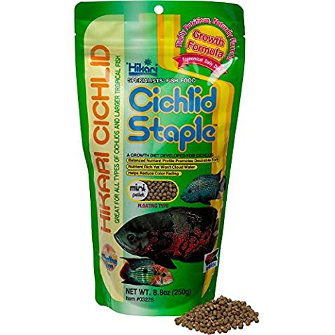Cichlid Staple 8.8oz - Mini Pellet