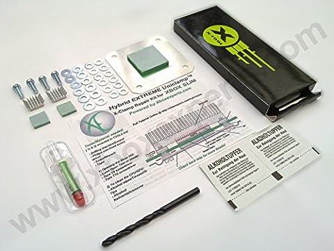 [Outils & Extras] Xbox 360S/slim/E Extreme Hybrid Uni clamptm RROD x Kit/Set avec outils de réparation Clamp & Extras (pas pour grande Xbox 360., voir photo., Rod, Ring of Death)