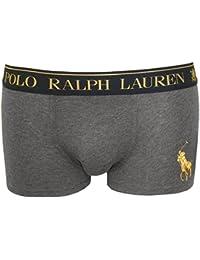 Polo Ralph Lauren Homme Classique Pochette stretch Logo Trunks, Gris