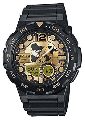 Orologio da uomo casio collection aeq-100bw-9avef