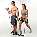 [Sponsored]Trendy Home Total-Body Fitness Gym Revoflex Xtreme Abs Trainer Resistance Exercise New Sport Core Double AB Roller Exercise Equipment,Professional Ab Wheel Roller Supports,Abdominal Workout Machine