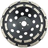 PRODIAMANT Premium PDX829.025–Disco diamantado 180mm asfalto 180/22,2Negro pdx82.924