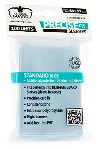 Ultimate Guard 10050 Ultimate Guard - Fundas, 64 x 89 mm (Ultimate Guard 10050)