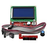 ReliaBot 12864 Pantalla LCD Completa con Controlador Gráfico y Adaptador para placas Ramps 1,4 RepRap Impresora 3D Mendel Prusa i3 Arduino