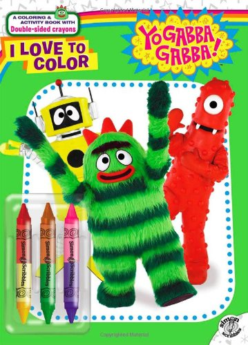 I Love to Color (Yo Gabba Gabba!) por Lisa Rao